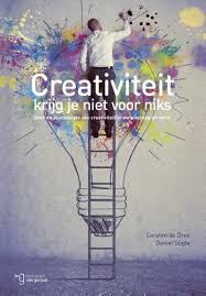 Creativiteit krijg je niet voor niks Image